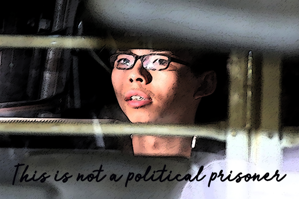 Political trials create political prisoners